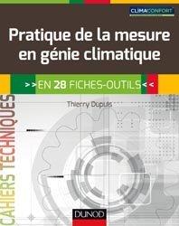 Pratique de la mesure en génie climatique en 28 fiches-outils
