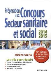 Préparation aux concours secteur sanitaire et social2014 - 2015