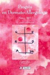 Progrès en Dermato-Allergologie - GERDA 2016