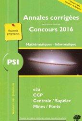 PSI Mathématiques Informatique
