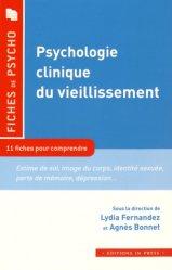 psychologie clinique du vieillissement.