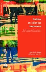 Publier en sciences humaines