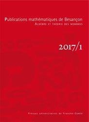 Publications mathématiques de Besançon