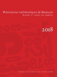 Publications mathématiques de Besançon 2018