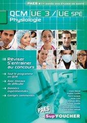 QCM UE3 Physiologie des appareils et systèmes