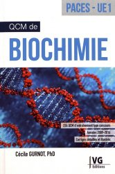 QCM de biochimie UE1