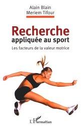 Recherche appliquée au sport