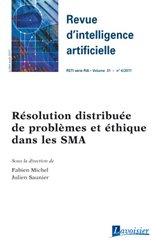 Résolution distribuée de problèmes et éthique dans les sma