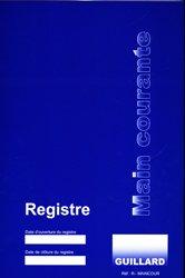 Registre main courante pour service de sécurité ERP et ERT