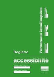 Registre d'accessibilité aux personnes handicapées