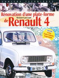 Rénovation d'une plate forme de Renault 4