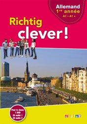 Richtig Clever 1ère Année : Coffret pour la Classe 2 CD Audio et 1 DVD