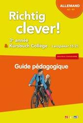 Richtig Clever 3ème Année : Guide Pédagogique