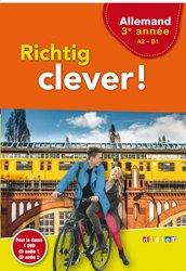 Richtig Clever 3ème Année : Coffret pour la Classe 2 CD Audio et 1 DVD