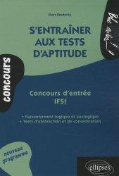 S'entraîner aux tests d'aptitude  Concours d'entrée IFSI