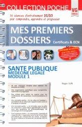 Santé publique Médecine légale Module 1
