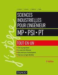 Sciences industrielles pour l'ingénieur tout-en-un MP, PSI, PT