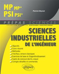 Sciences industrielles de l'ingénieur MP, PSI