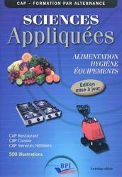 Sciences appliquées - CAP - ELEVE - Maj 2011