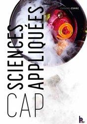 Sciences appliquées CAP 1ere et 2eme année