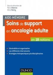 Soins de support en oncologie adulte