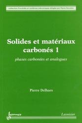 Solides et matériaux carbonés 1