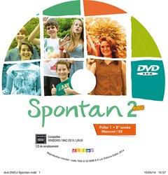 Spontan 2 Neu Palier 1 2e Année A2 : 1 DVD de Remplacement