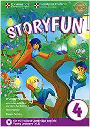 Storyfun for Movers Level 4 - Student's Book with Online Activities and Home Fun Booklet 4