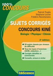 Sujets corrigés concours Kiné