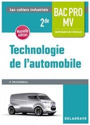 Technologie de l'automobile 2de Bac Pro Maintenance des véhicules
