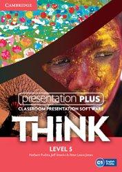 Think Level 5 - Presentation Plus DVD-ROM
