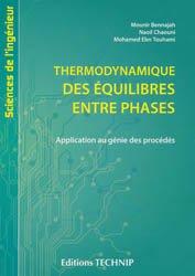 Thermodynamique des équilibres entre phases