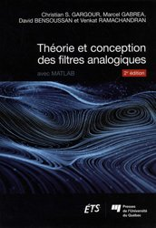 Théorie et conception des filtres analogiques