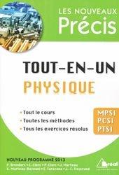 Tout-en-un Physique MPSI PCSI PTSI