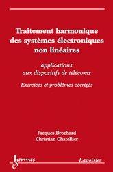 Traitement harmonique des systèmes électroniques non linéaires