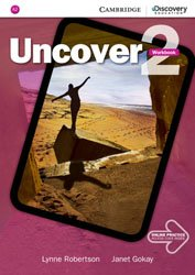 Uncover Level 2 - Workbook with Online Practice