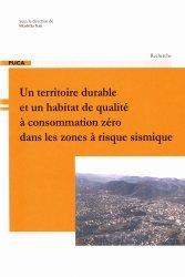 Un territoire durable et un habitat de qualité à consommation zéro dans les zones à risque sismique