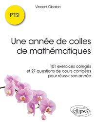 Une année de colles de mathématiques en PTSI