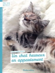 Un chat heureux en appartement