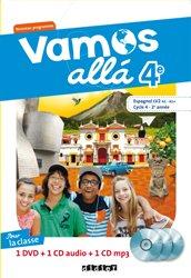 Vamos allá 4e LV2 : Coffret pour la Classe 2 CD Audio et 1 DVD