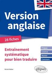 Version Anglaise - Entraînement Systématique pour Bien Traduire