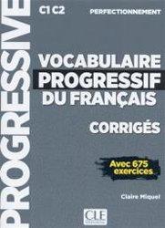 VOCABULAIRE PROGRESSIF DU FRANCAIS C1-C2