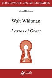 WALT WHITMAN LEAVES OF GRASS