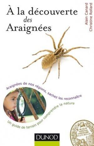 A la découverte des Araignées-dunod-9782100711048
