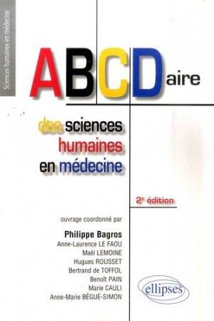 ABCDaire des sciences humaines en médecine - ellipses - 9782729850616