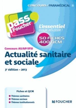 Actualité sanitaire et sociale - foucher - 9782216122523