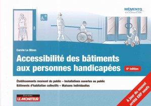 Accessibilité des bâtiments aux personnes handicapées-le moniteur-9782281141672