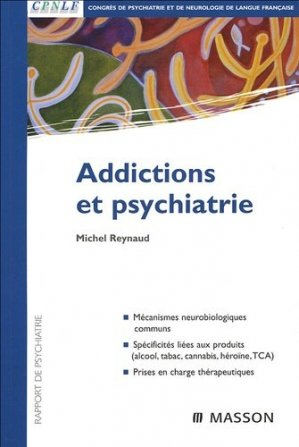 Addictions et psychiatrie-elsevier / masson-9782294020926