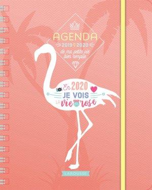 Agenda de ma petite vie bien remplie-larousse-9782035962676