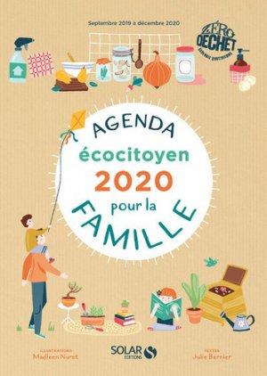 Agenda écocitoyen pour la famille zéro déchet-Solar-9782263161063